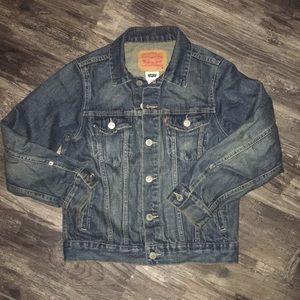 Levi's Girls Denim Trucker Jacket size M
